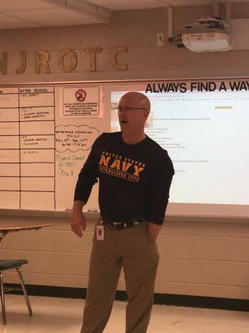 Teacher Spotlight : Commander Melton