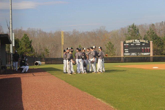 East Hall Baseball Team