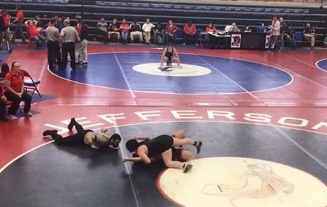Wrestling Team Makes History