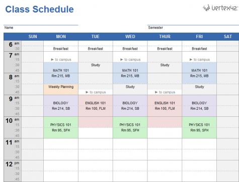 The Pressure of Choosing Schedules