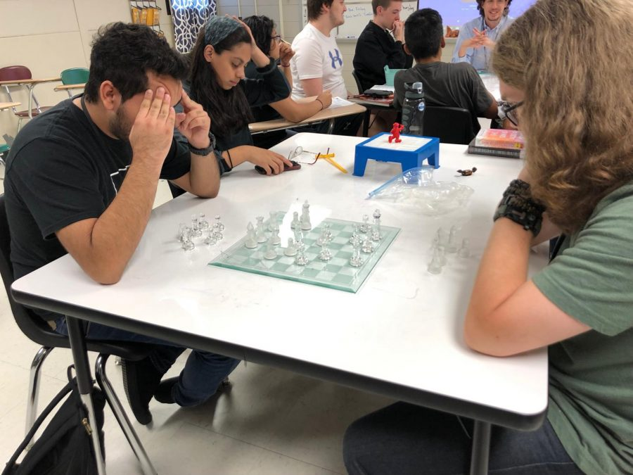 Chess Club combing with Dungeons and Dragons